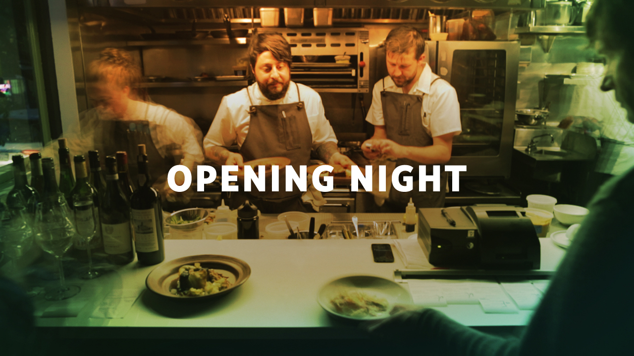Opening Night: Aster with Chef Brett Cooper