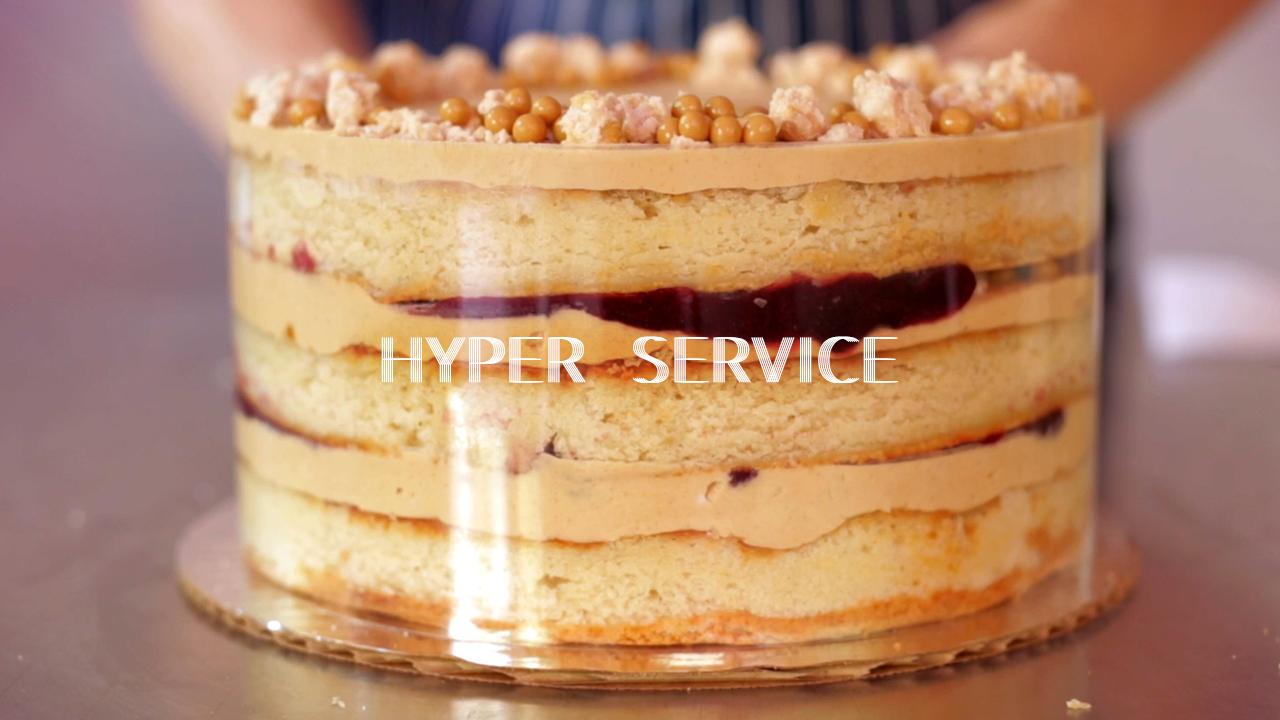 Cakelapse at Fluff Bake Bar | Chef Rebecca Masson