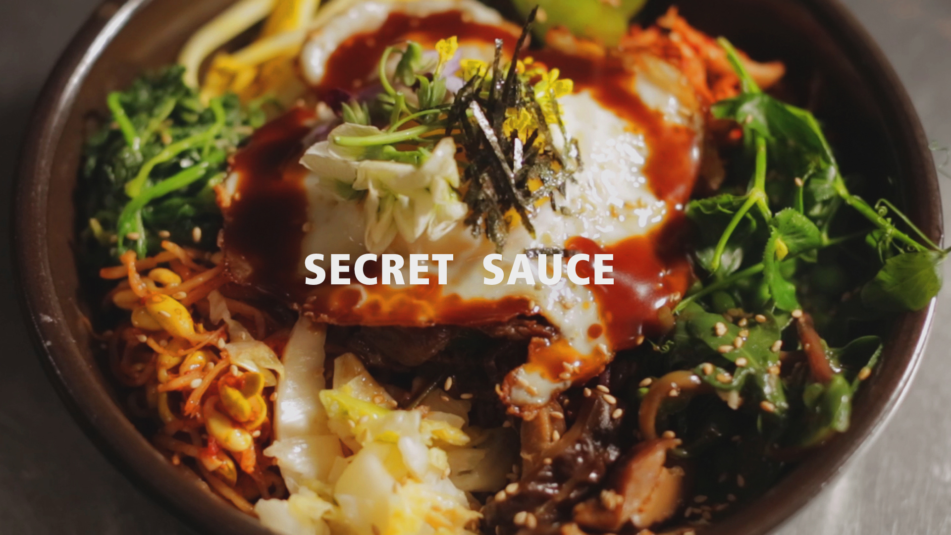 Teriyaki Bibimbap with Esther Choi | Secret Sauce