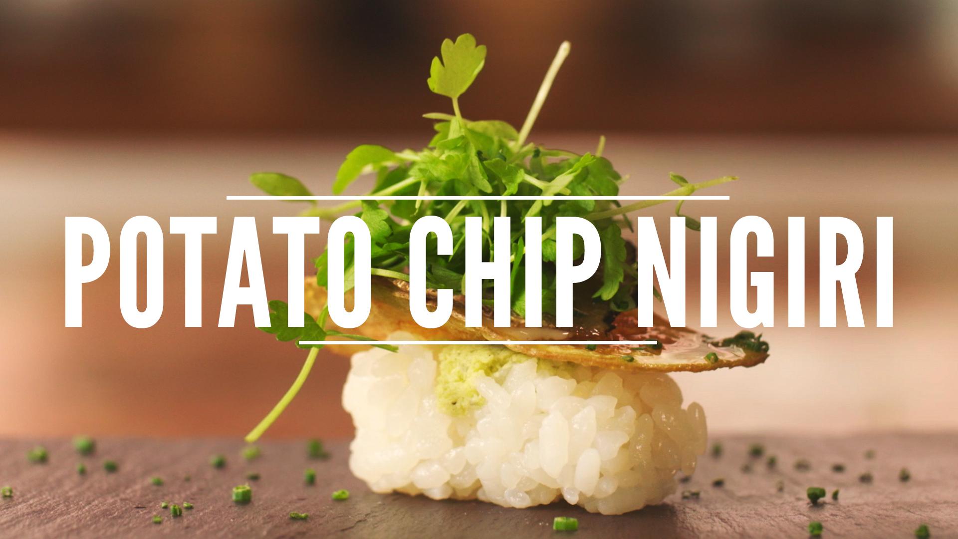 Tim Cushman Adds Potato Crunch to His Nigiri | The Dish