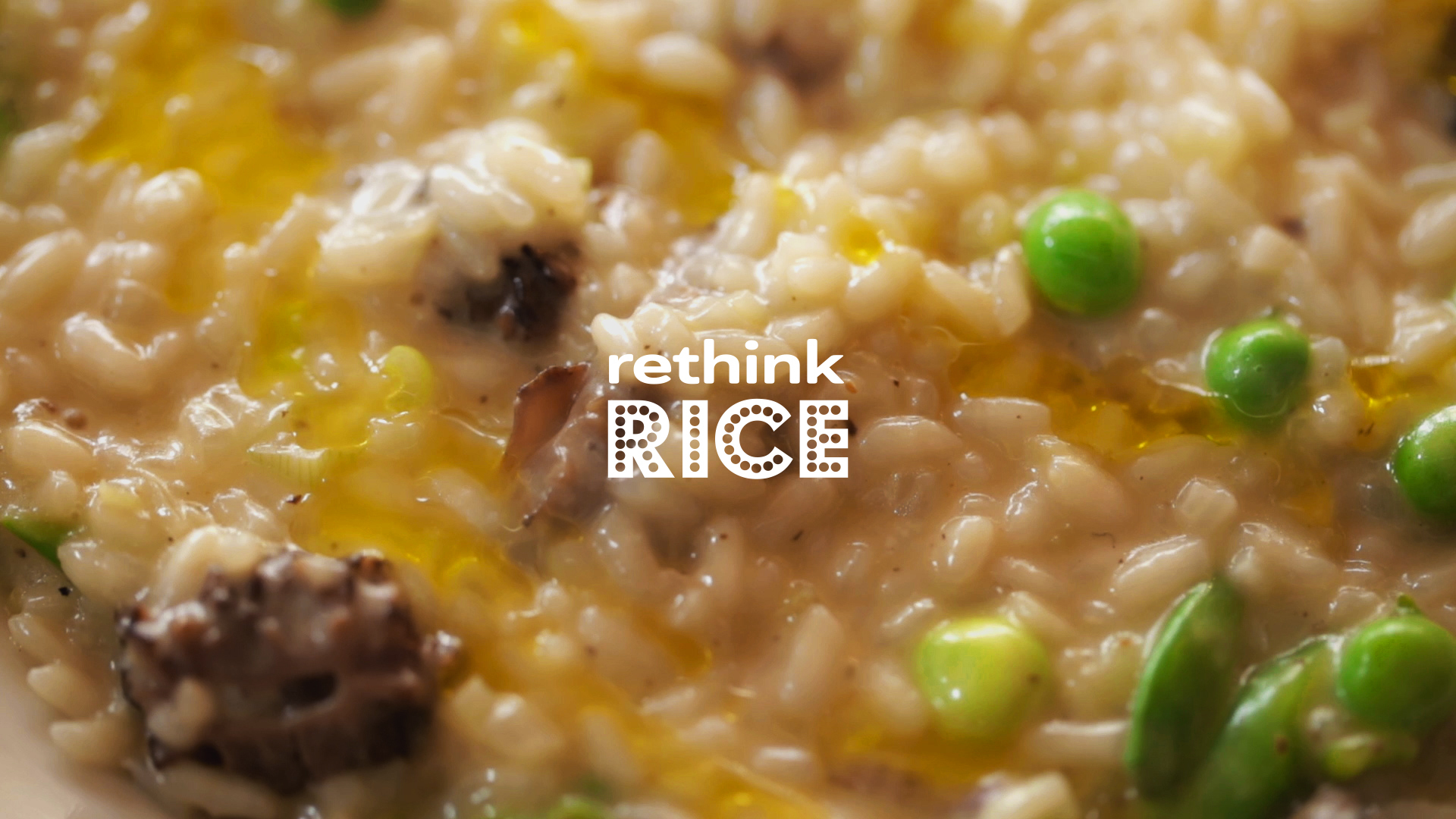 Sweet Pea and Morel Risotto with Chef Chris Cosentino | Rethink Rice