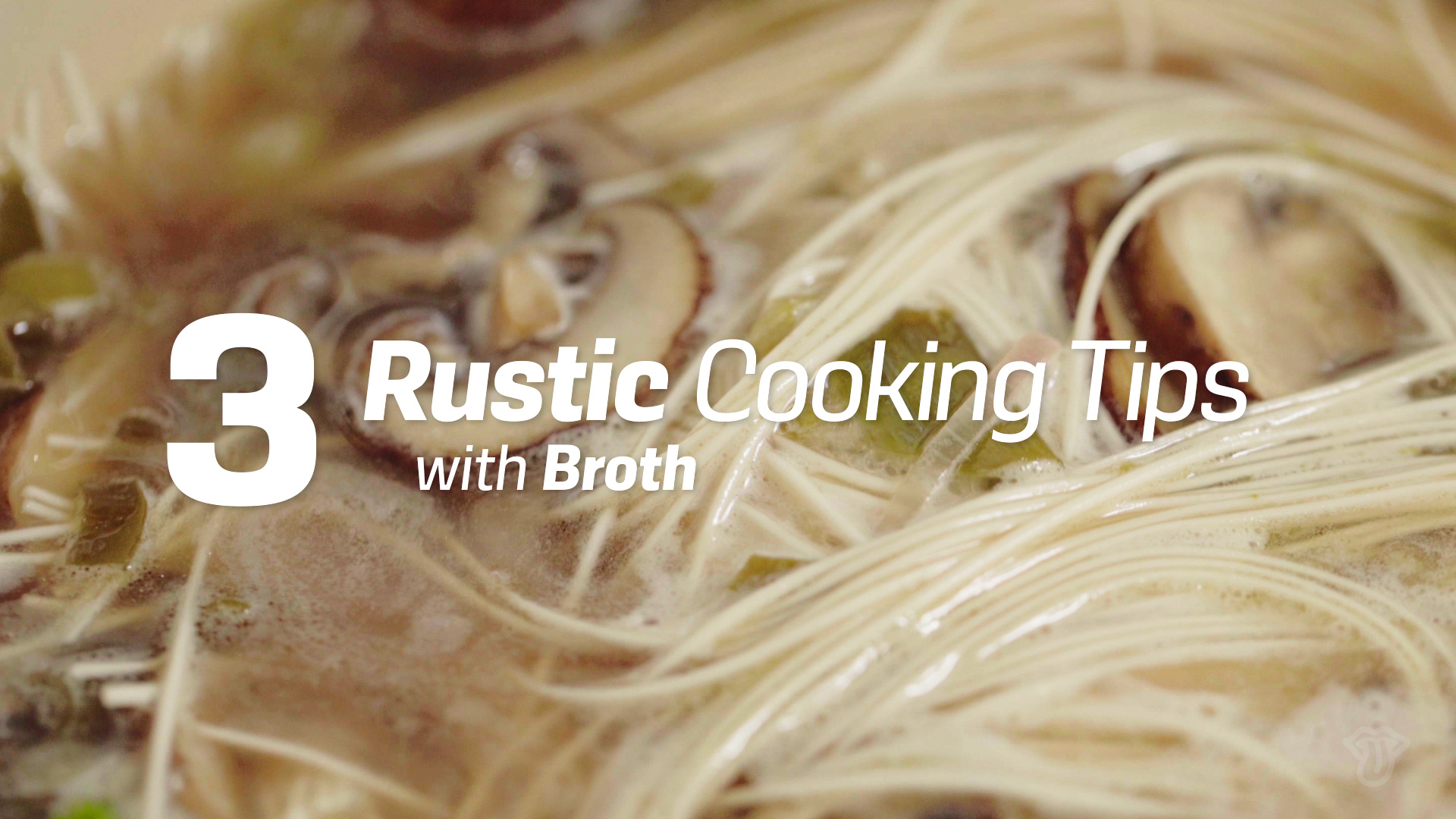 Rustic Tips from Chef Johnny Anderes | Obey The Broth