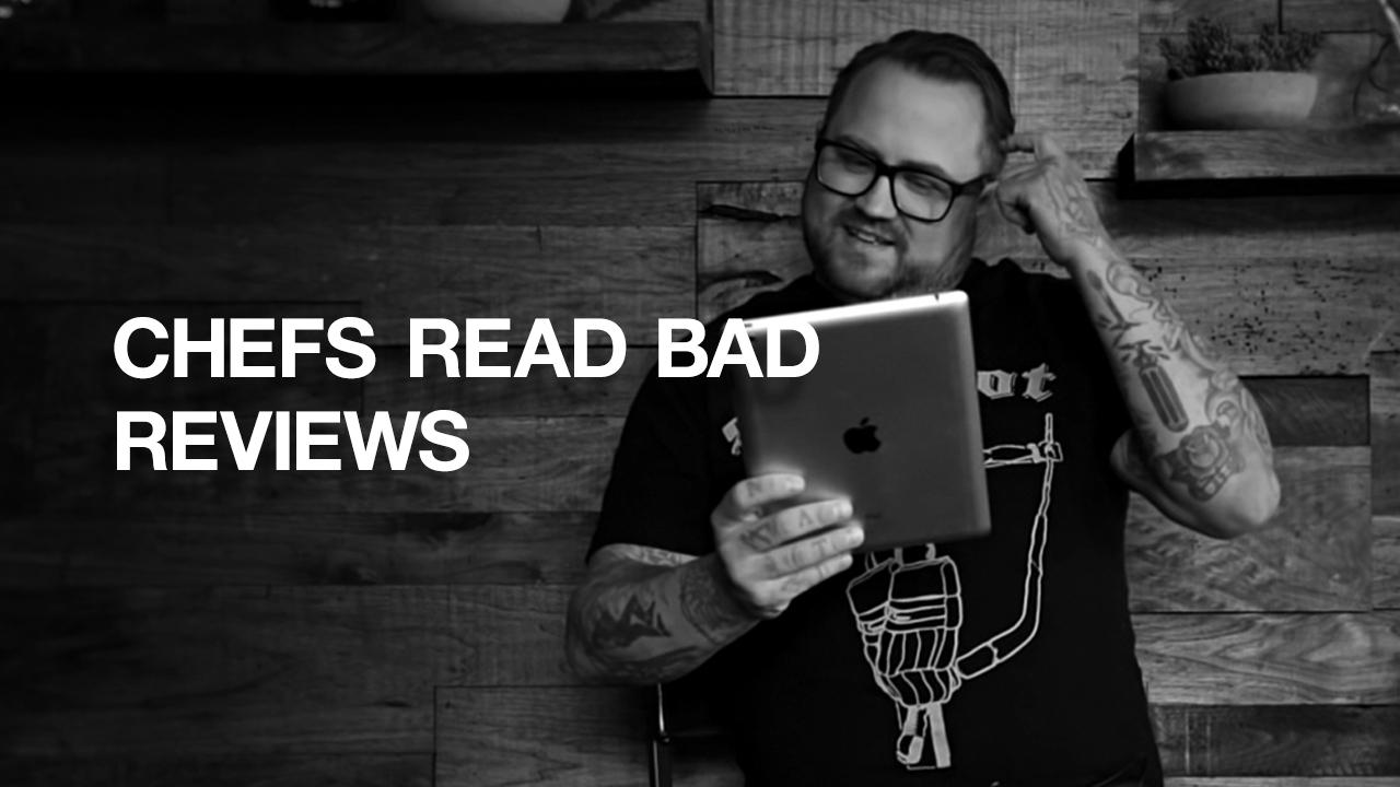 """Toro is boro. Skip. Horrible. Gag."" | Chef Jamie Bissonnette | Chefs Read Bad Reviews"