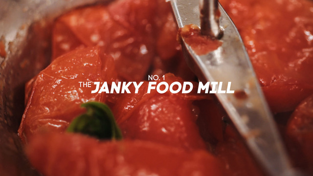 Tried & True, No. 1: The Janky Food Mill