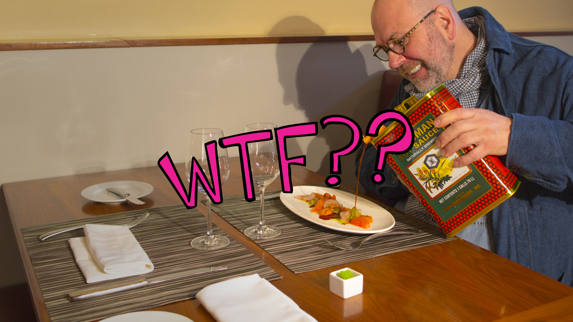 Don't Ask For a Condiment That Doesn't Belong to the Cuisine | Chef Stefan Terje | WTF Are You Doing?!