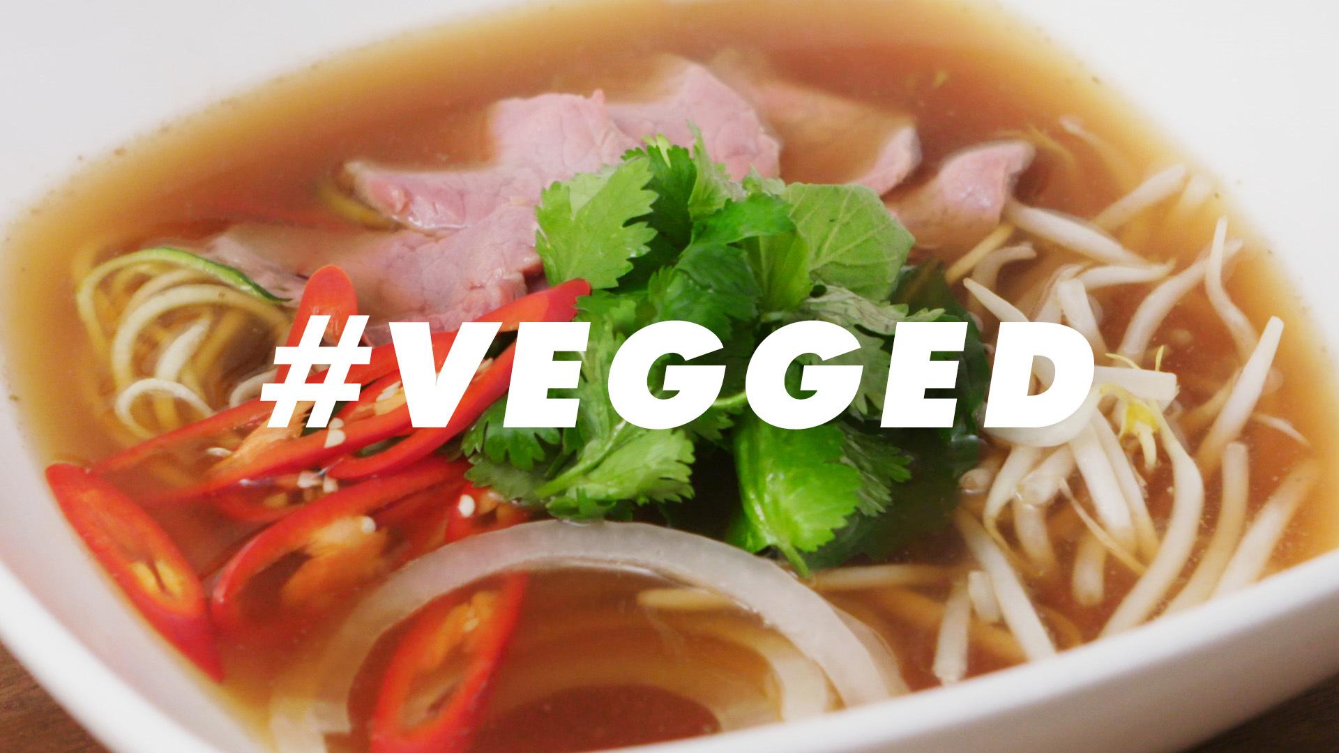 Zucchini Noodle Pho | VEGGED