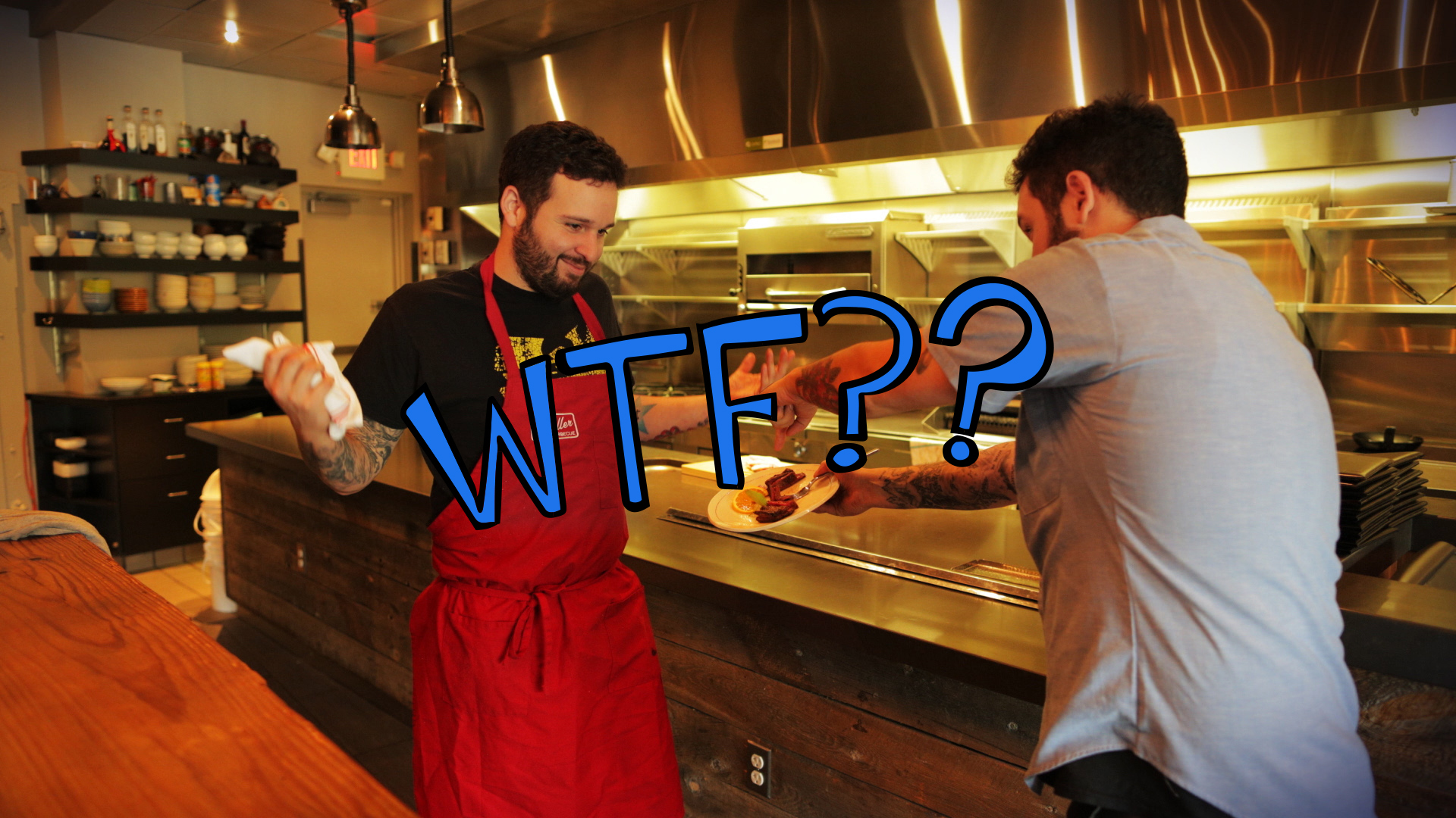 Don't Send Your Own Food Back | Chef Tim Maslow | WTF Are You Doing?!
