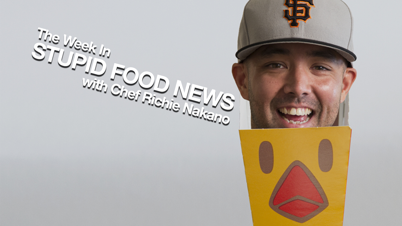 The Week in Stupid Food News w/ @linecook: Chicken Fries, Bacon Cycle, D!ck Logo