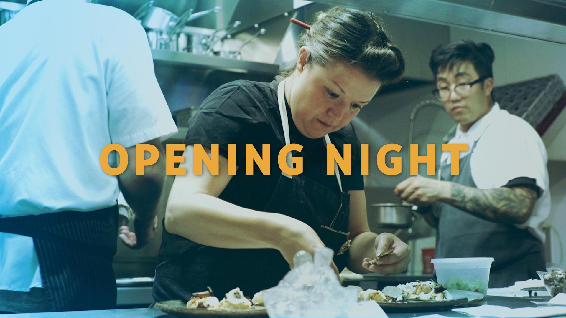 Opening Night: Nightbird with Chef Kim Alter