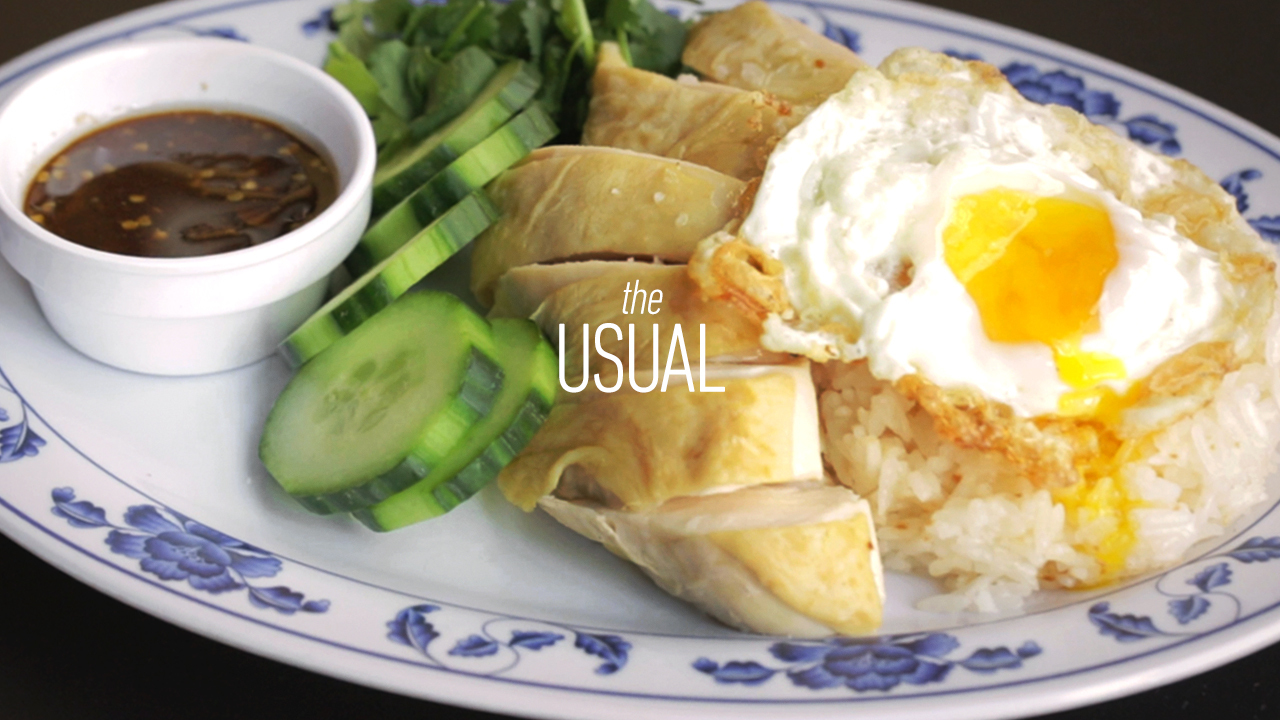 Chef Kim Alter's Favorite Kao Mun Gai at Hawker Fare | The Usual