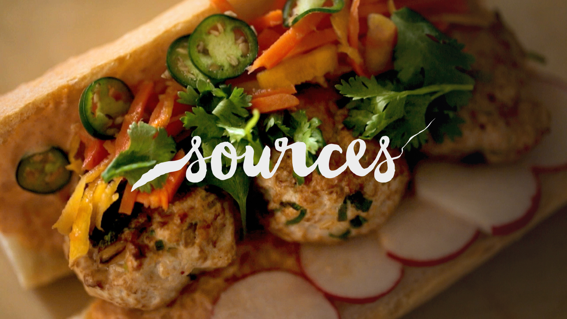 Turkey Meatball Banh Mi with Chef Chaz Brown of Seoul Chicken | Sources