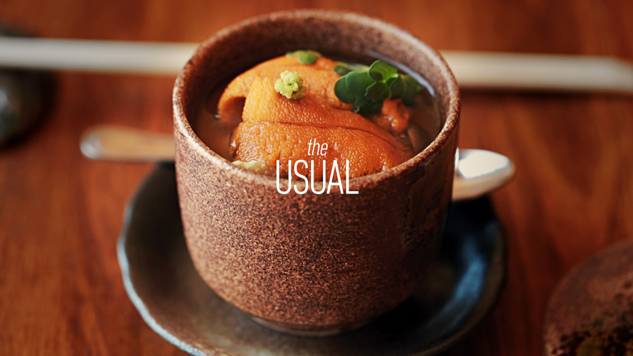 Uni Chawanmushi like a Warm Hug with Chef Kyle Itani | The Usual