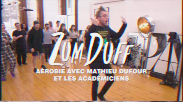 ZumDuf : Aérobie avec Mathieu Dufour