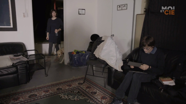Laurent et Maëlle jasent