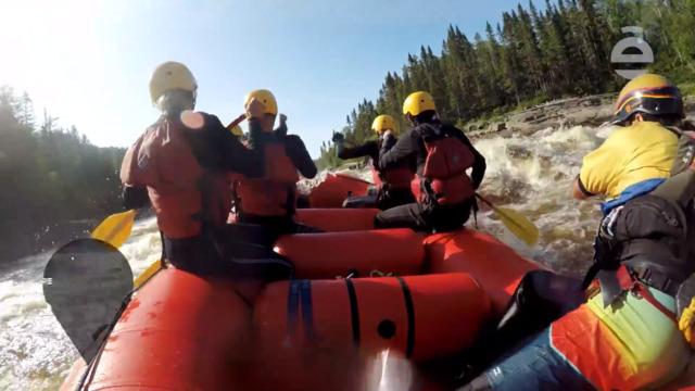 Rafting au Lac-Saint-Jean