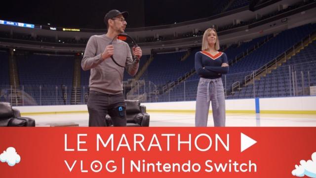 Marathon Vlog Nintendo Switch #2 | Sabrina Cournoyer