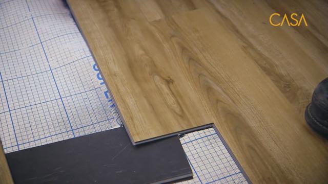 Un plancher pratique et résistant