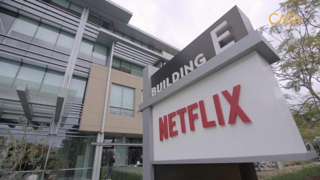 Le siège social de Netflix