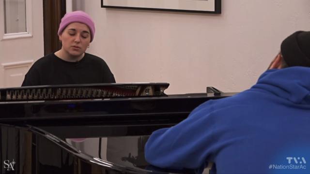 Interlude musical avec Rosalie