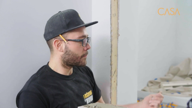 Installation de la céramique