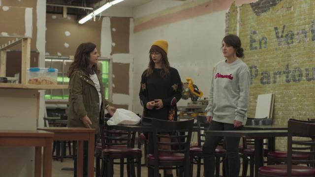 Chloé, Danielle et Sophie font les rénos du resto