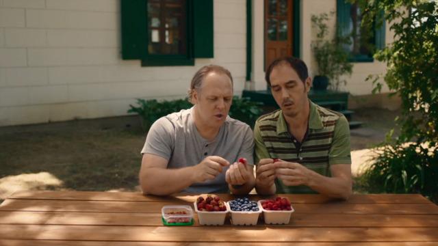 Les petits fruits qu'il y a par icitte