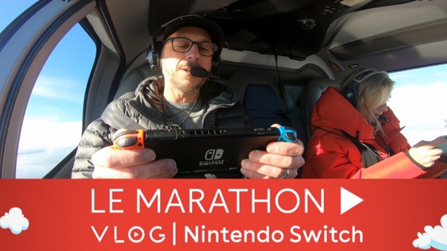 Marathon Vlog Nintendo Switch #3 | Stéphanie Villeneuve