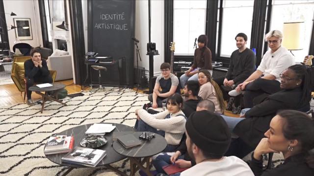 Cours d'identité artistique avec Xavier Dolan