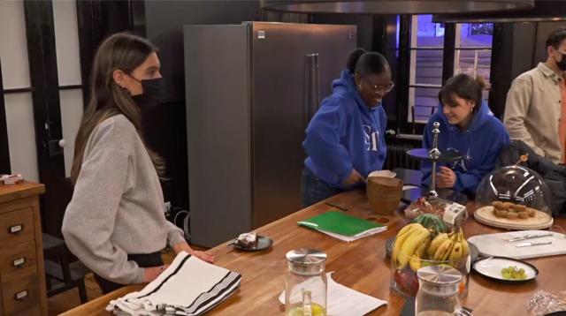 Visite de Charlotte Cardin en cuisine