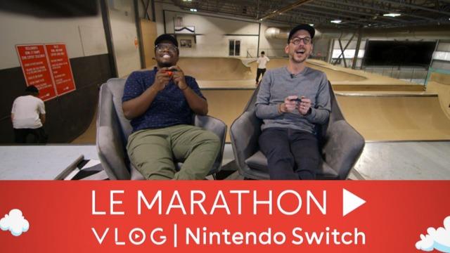 Marathon Vlog Nintendo Switch #4 | Kevin Raphael