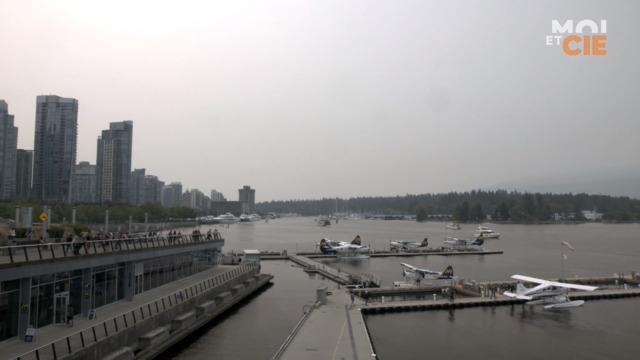 Départ pour Vancouver