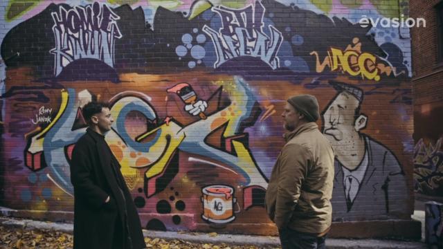 Visite des murales de Montréal