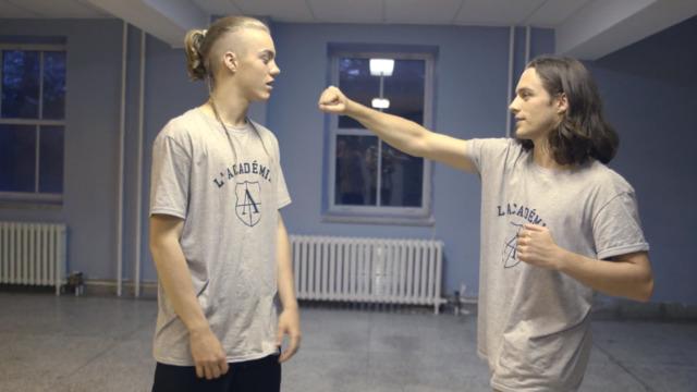 La bataille de Clément et Théo