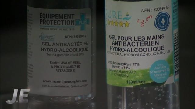Des ingrédients douteux dans des désinfectants