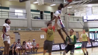 Dunk of the Year? Video of high schooler posterizing rival goes viral