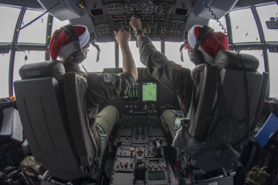 Air Force delivers goodies in Operation Christmas Drop