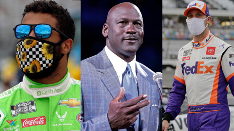 Michael Jordan's NASCAR team and its sponsors have a primary goal: Diversity