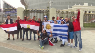 Fans from around the globe flock to Russia for 2018 World Cup
