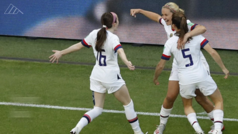 USWNT beat Sweden 2-0, advance to knockout stage of World Cup