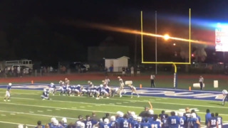 Homecoming queen kicks game-winning extra point just after receiving her crown