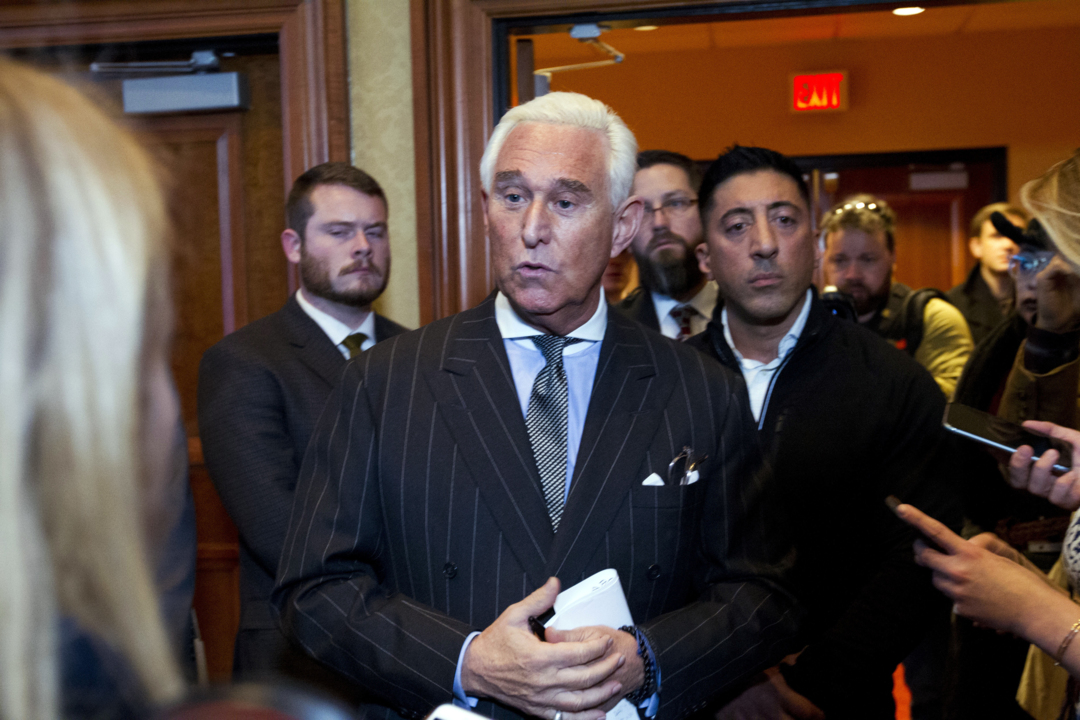 Roger Stone Will Make Paid Appearance At Virginia Strip