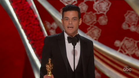 Winning moments from the Oscars: Rami Malek, Spike Lee and more