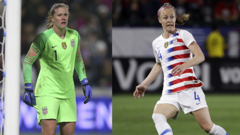 Meet the soccer players who will be representing the U.S. in the women's FIFA World Cup