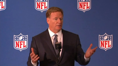 Goodell: NFL will not pay for video evidence in domestic violence investigations