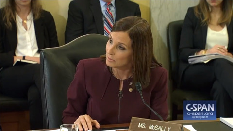 Arizona Sen. McSally says she was raped while serving in the Air Force