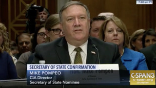 Pompeo at secretary of state confirmation: I'm not afraid to get my hands dirty