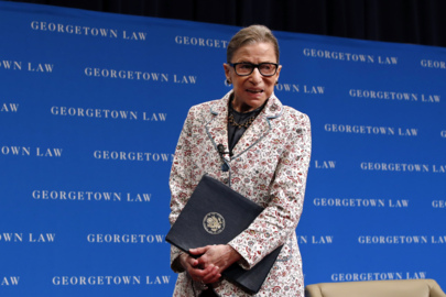Justice Ruth Bader Ginsburg hospitalized after fall