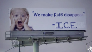 Anti-ICE activists change California billboard to read, 'We Make Kids Disappear'