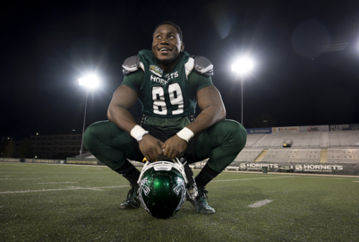 Sac State's 'flex' defense features a super hero stopper in George Obinna
