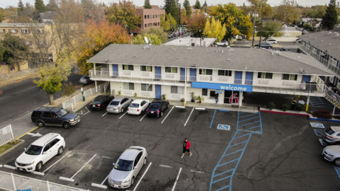 See drone video of potential East Sacramento homeless shelter site
